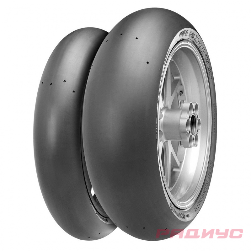Continental ContiRaceAttack 120/70 ZR17 58W